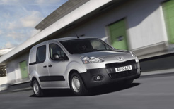 Peugeot partner van, along with the larger expert receive a range of visual and functional upgrades, more efficient engines for 2012