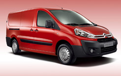 Citroen Dispatch van for 2012 receives styling upgrades, better functionality and improved running costs thanks to lower CO2 emissions