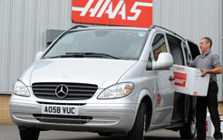 A new compact Mercedes urban delivery van will be launched below the Vito (pictured) called Citan in autumn 2012