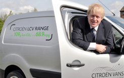 boris, johnson, citroen, van