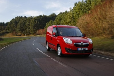 Business mileage in a private van, such as this Vauxhall Combo pictured, can be claimed for at 45p per mile