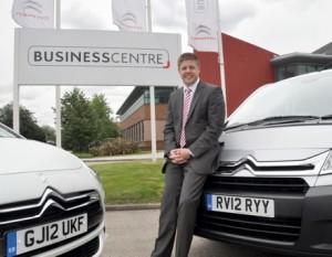 Scott Michael, Citroen's new Head of Commercial Vehicles & Business Centre Programme