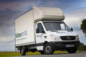 Mercedes-Benz Sprinter checks in with Hilton Rental