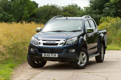 Pick-up buyers can test new Isuzu D-Max on Shrewsbury dealer's off-road course