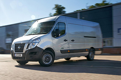Nissan NV400 – practical versatility with a distinctive face