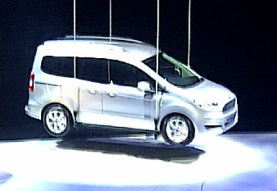 Tourneo Courier will complete Ford's new LCV line-up