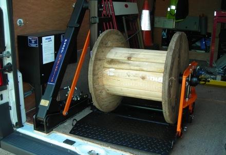 Load handling for vans