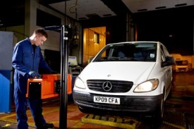 Save downtime – get your van MoT tested while you sleep