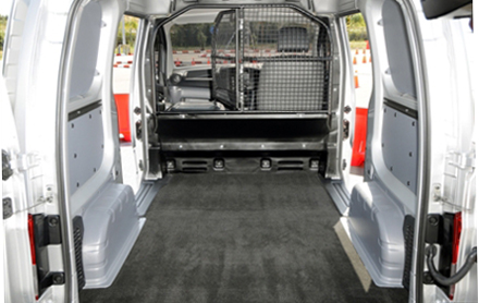 Neat and tidy nissan nv200 is big on loadspace business vans for Nissan nv200 interior