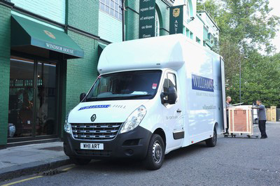 Renault Master moves into the antiques and art business