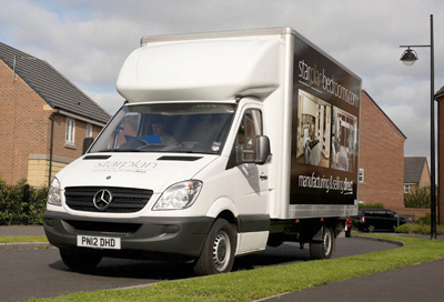 Downsizing success for furniture maker's delivery fleet