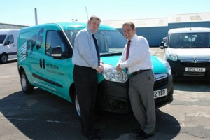 Parts supply firm goes greener with Vauxhall Combos