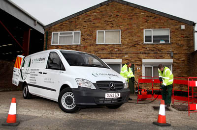 Bucks drainage firm saves money with switch to high-economy Mercedes vans