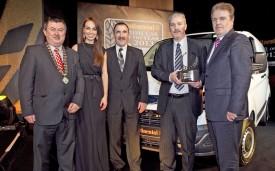 Ford Transit Custom piles up accolades with Irish Van of Year award