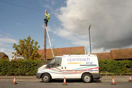 Remapping programme gives economy and environmental boost to BT Fleet