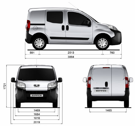 peugeot s sparky little bipper the small van that thinks big. Black Bedroom Furniture Sets. Home Design Ideas