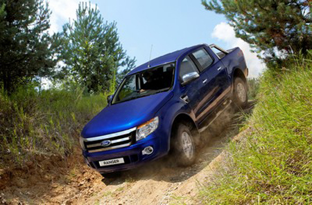 Ford Ranger beat off its rivals in International Pick-Up Award 2013