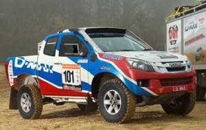 Dakar-ready D-Max from Isuzu is a dream machine