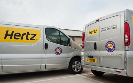 Hertz van hire