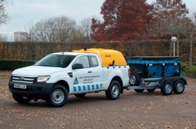 True grit – Ford helps keep the UK's roads clear