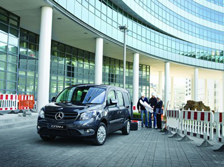 A new Mercedes-Benz Citan for the cost of two bacon butties a day!