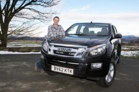 Welsh farmer's winning ways bag a prize Isuzu D-Max pick-up