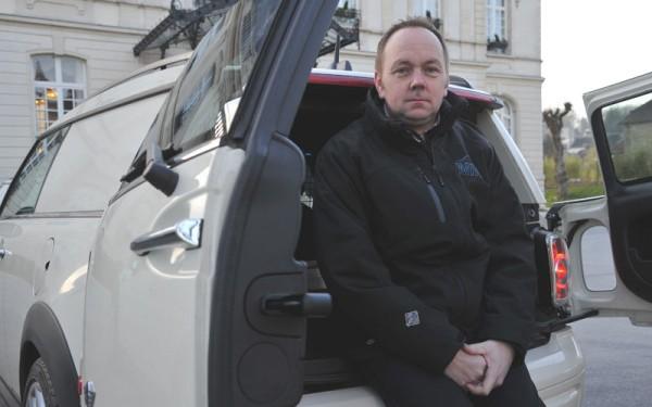 Dave Tuckett MINI Clubvan