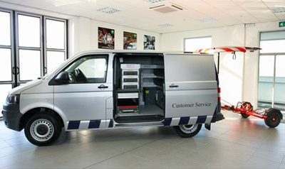 Volkswagen Transporters to the rescue with roadside recovery firm