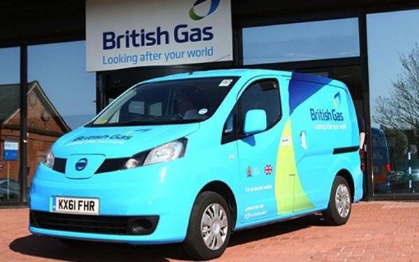 Nissan British Gas van