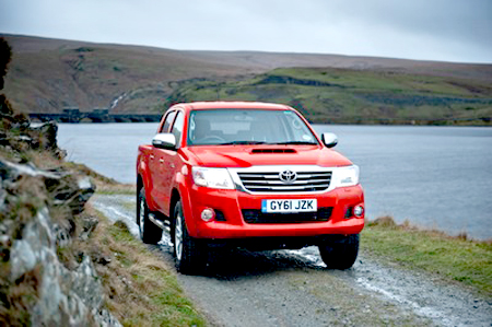 Toyota's substantial Hilux pick-up inspires confidence
