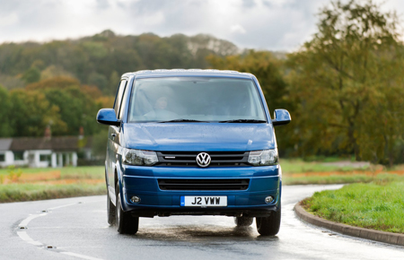Volkswagen's eco-friendly Transporter BlueMotion is well built and refined