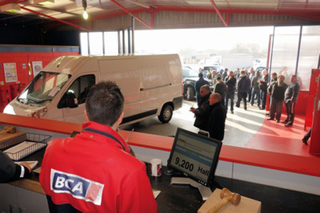 Used van values reach record levels in February
