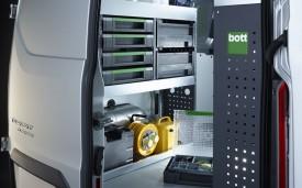 Bott van racking system for the Transit Custom