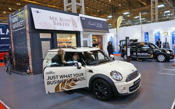 MINI Clubvan at the CV Show
