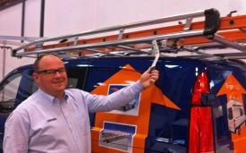 Koen Bessemans demonstrates AluRack roof rack system
