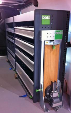 Van Roof Racks >> New Bott Ford Transit Custom van racking launched - Business Vans