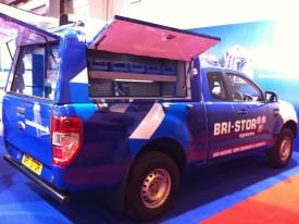 Bri-Stor Custom Hardtop on Ford Ranger at the CV Show