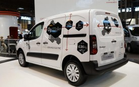 Citroen Berlingo Electric at CV Show