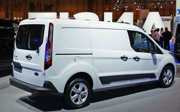 Ford Transit Connect at CV Show