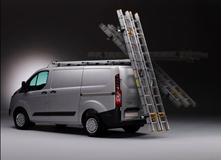 Load and unload ladders safely with Rhino's new SafeStow3