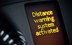 Mercedes Sprinter warning system