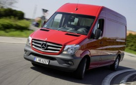 New Mercedes-Benz Sprinter technology enhances safety