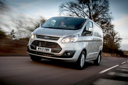 Transit leads Ford's top UK CV sales performance