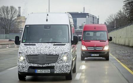New Mercedes-Benz Sprinter technology enhances safety