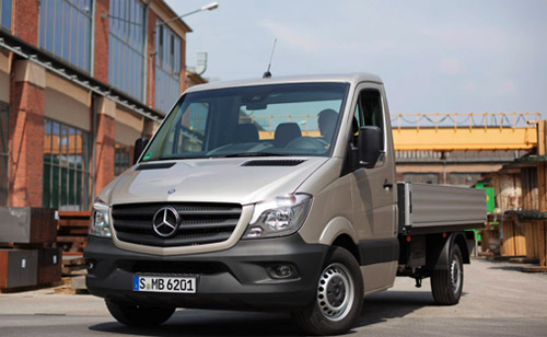 Mercedes Sprinter tipper