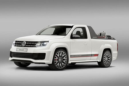 Amazing Amarok Power-Pickup wows the GTI fans