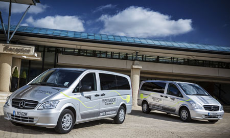 Network Rail goes green with Mercedes-Benz Vito E-CELLs