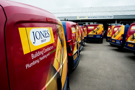 Building firm cuts transport costs after fleet review