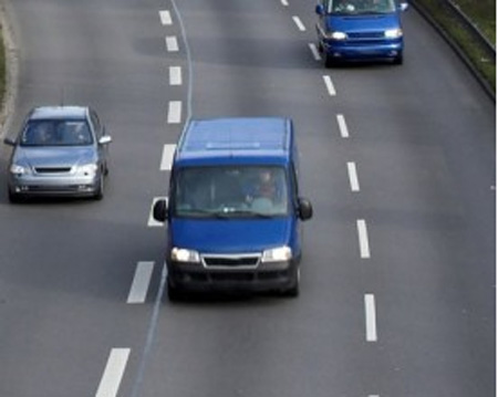 Van drivers admit to being more careful in their own vehicles