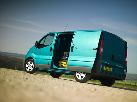 Vauxhall vivaro side door
